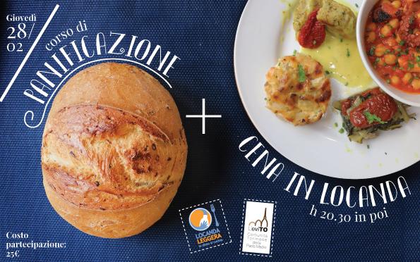 Panificazione + cena